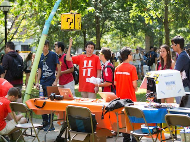 Student org at Festifall